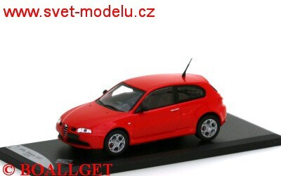 ALFA ROMEO 147 GTA 2002 RED