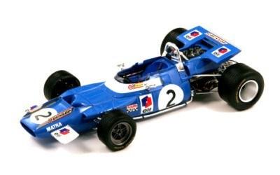 Matra MS80 No. 2 French GP Winner 1969 Jackie Stewart SPARK MODEL 18S066