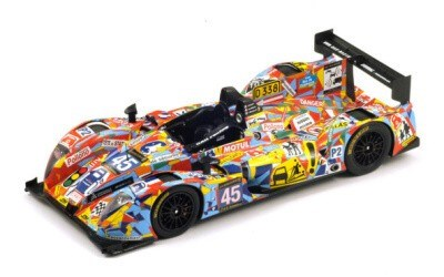Morgan -Nissan OAK Racing No. 45 Le Mans 2013 J-M Merlin - P. Mondolot - J. Nicolet SPARK MODEL 18S096
