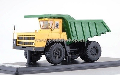 BELAZ 7522 YELLOW / GREEN L.E. 252 PCS.