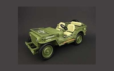 JEEP WILLYS US ARMY 1944 GREEN LIMITED EDITION 360 PCS.