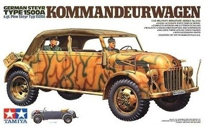TAMIYA GERMAN STEYER TYPE 1500 A KOMMANDEUERWAGEN