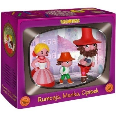 Rumcajs Manka a Cipísek Pohádky z lesa Řáholce