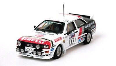 AUDI QUATTRO No. 17 WILSON/GREASLEY RAC RALLY 1982