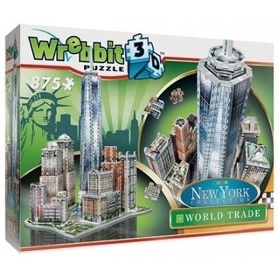PUZZLE WREBBIT 3D DOWNTOWN WORLD TRADE