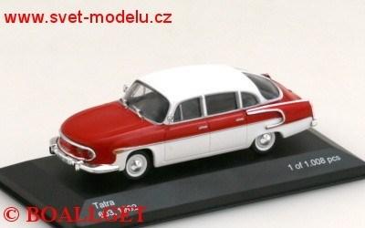 TATRA 603 1962 RED/WHITE