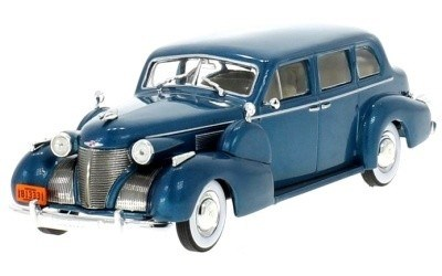 CADILLAC SERIES FLEETWOOD V8 1939 TURQUOIS