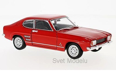 FORD CAPRI I 1600 GT XLR 1969 RED
