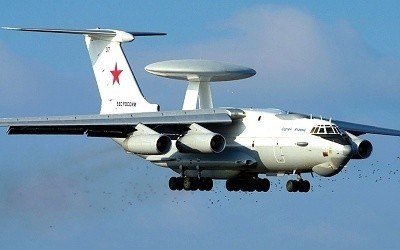 A-50 MAINSTAY RUSSIAN AIRBORNE EARLY WARNING AND CONTROL AEW AIRCRAFT
