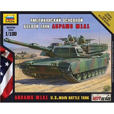 ABRAMS M1A1 U.S. MAIN BATTLE TANK