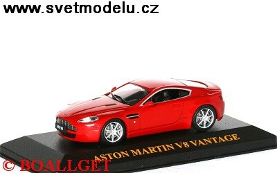 ASTON MARTNI AMV8 2005 RED
