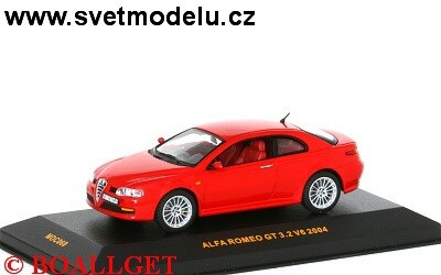 ALFA ROMEO GT 3,2 V6 2004 RED