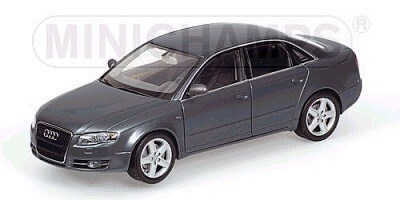 AUDI A4 2005 GREY METALLIC