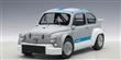 FIAT ABARTH 1000 TCR MATT GREY/BLUE STRIPES
