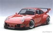 PORSCHE RWB 993 RED / GUN GREY WHEELS