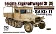 SD. KFZ. 11 LEICHTE ZUGKRAFTWAGEN 3t