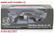 CHEVROLET CHEVELLE SS396 1966 BLACK WITH RED INTER