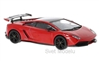 LAMBORGHINI GALLARDO LP 570-4 SUPER TROFEO STRADALE 2011 RED / BLACK
