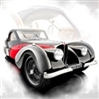 BUGATTI TYPE 57 SC ATALANTE 1937 BLACK / RED LIMITED EDITION 1500 PCS.
