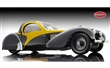 BUGATTI TYPE 57 SC ATALANTE 1937 BLACK / YELLOW LIMITED EDITION 500 PCS.