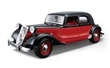 CITROEN 15 CV TA 1938 RED / BLACK