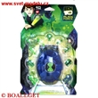 BEN 10 MINI ALIEN CREATIVE CHAMBER BEN & CLEAR SWAMPFIRET SET