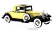 PACKARD 902 STANDART EIGHT COUPE 1932 YELLOW / BLACK