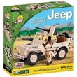 SMALL ARMY JEEP WILLYS NORTH AFRICA 1943 STAVEBNICE COBI 24093