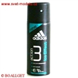 Adidas 150 ml Ice Effect 3 action deo spray Anti-Whitening
