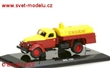 ZIS 150/ TZM 150 FUEL TANKER RED/YELLOW