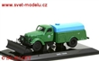 ZIS 164A/ PM-10 STREET CLEANING WITH SNOW PLOUGH GREEN/BLUE