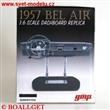 CHEVROLET BEL AIR 1957 DASHBOARD REPLICA BLACK