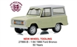 FORD BRONCO 1966 50 YEARS