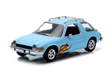 AMC PACER 1977 LIGHT BLUE WITH FLAMES