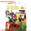 HOTWHEELS AUT��KO THE BEATLES YELLOW SUBMARINE �LUT� PONORKA MORRIS MINI