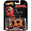 HOTWHEELS AUTÍČKO RETRO DEADPOOL FOOD TRUCK