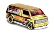 AUTÍČKO HOTWHEELS SUPER CHROMES DODGE VAN CUSTOM 1977