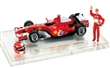 FERRARI F1 F248 M. SCHUMACHER 250 CAREER GP GRAND PRIX BRASIL 22.10.2009 WITH FIGURES A HELMET 1:8 LIMITED EDITION