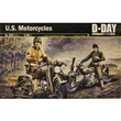 U.S. MOTORCYCLES WWI D-DAY NORMANDY 1944/2014