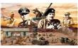 DIORAMA EL ALAMEIN WWII