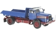 IFA H6 DUMPER 1957 BLUE / RED