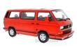 VOLKSWAGEN T3 BUS WHITE STAR 1993 RED L.E. 500 PCS.