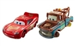CARS 3 CARS DAREDEVIL GARAGE LIGHTNING MCQUEEN WITH NO TIRES A BURÁK WITH NO TIRES 2-PACK