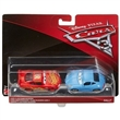 CARS 3 AUTA 3 BLESK MCQUEEN & SALLY 2-PACK