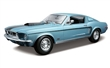 FORD MUSTANG GT COBRA JET 1968 BLUE
