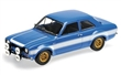 FORD ESCORT I RS1600 FAV 1970 BLUE W/WHITE STRIPES L.E. 504 pcs.