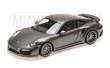 PORSCHE 911 TURBO S 2016 GREY METALLIC L.E. 504 PCS.