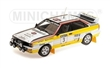 AUDI QUATTRO A2 AUDI SPORT BLOMQVIST/CEDERBERG WINNERS SANYO RALLY OF NEW ZEALAND 1984 L.E. 300 pcs.