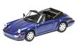 PORSCHE 911 CARRERA 2 CABRIOLET 1990 BLUE METALLIC L.E. 252 pcs.