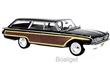 FORD COUNTRY SQUIRE 1960 BLACK / WOODEN